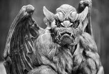 Heart of Stone / Inspiration for characters and other things in my gargoyle shifter novel