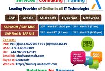 Book your Free DEMO for SAP UI5 & Fiori, MDM & MDG, Get 100$ FREE from Acutesoft Online Training