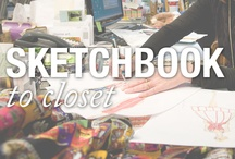 Sketchbook to Closet /   / by Nicole Miller