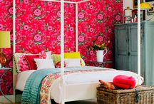 Romancing the Four Poster / A collection of four poster beds from across the world. A four poster instantly makes the bedroom romantic.