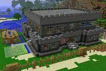 Casas o edificios de minecraft