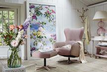 Romantisch landelijk / Prachtige romantische relaxfauteuils voor een heerlijk relaxmoment thuis.