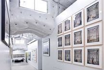 Art Gallery Interior Ideas / by Craftori - arts . crafts . vintage