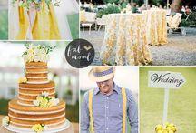 Pantone 2016: Buttercup wedding
