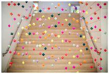 2014-2015 Bridal Show I / geometric shapes, vivid color, tribal or tribal influence