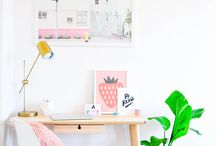 Workspace / A workspace should make you more productive. It needs to make you want to work! These workspace are so inspirational!