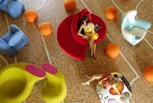 Playful / Interesting furniture and interiors ideas.