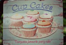 Decorating with cupcakes