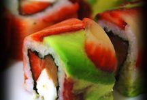 sushi and sasimi recipies