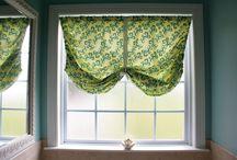 curtain ideas / by Debbie Bushyhead