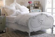 Shabby Chic Bedrooms / Cottage style bedrooms, shabby chic, French country