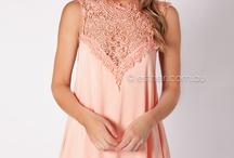 Peach Dresses
