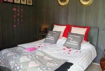 Romantiek / Ons Tuinhuis doet het prima als Bruidssuite of voor een romantische overnachting.