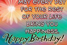 Birthdays/ quotes