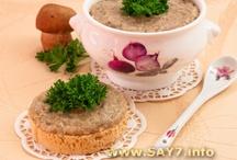 блюда из грибов / by Маргарита Аксенова