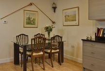 Dinning At The Luxury Dog Friendly Quantock Cottages In Somerset England