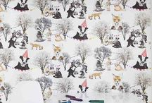 Unisex Kids Bedroom Decor / Looking for unisex children's wallpaper decor, Wild Hearts Wonder have a fantastic animal and nature based collection to choose from!