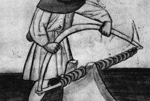 Rzemiosła / W średniowiecznym warsztacie...