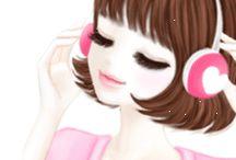 Gif..chicas coreanas