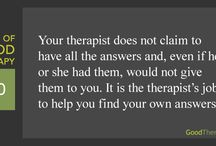 Therapy ideas / Ideas for therapy