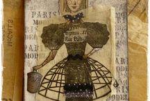 Art Dolls (Character Constructions & More) / Including Character Constructions stamped art