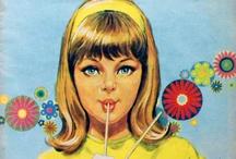 vintage girls annuals