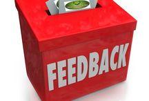 Feedback / Your say....