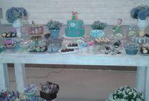 Decoração Pequena Sereia / Decoração feita por nós do Arthurina Festas