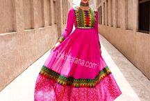 Mom afghan dress
