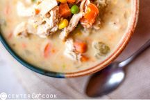 Stew / Healthy chicken pot pie stew