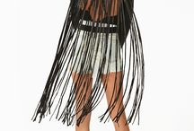 fringe leather