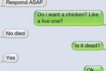 Just Funny Text Messages / by Nicholas Dean