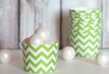Chevron & Polka dots 2nd Birthday / by Tracy W