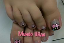 uñas  (pies )