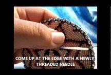 haft koralikowy/bead embroidery