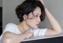 黒髪メイク集