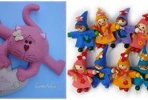 Muñecos con moldes