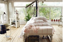 Interiors - bedroom  / .