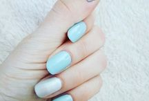 Hybryde / #semilac #surferwave #whitepearl #hybryda #hybrydy #manicure #hand