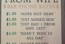 Creative Bar Signs