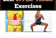 oefeningen voor de boven benen