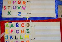 quiet book alphabet