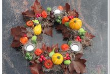 Wreaths - inspiration for autum creation