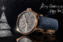 Merry Christmas & Happy New Year 2018! / Merry Christmas to you and your family. Have a happy New Year 2018 and stay curious what kind of news and exciting projects Alexander Shorokhoff watch manufacture will present next year.