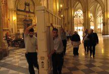 El Expolio viaja a Madrid / Traslado de 'El Expolio' del Greco desde la Catedral de Toledo hasta el Museo del Prado para su restauración
