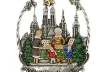German Ornaments / Our collection of Christmas Ornaments is full of authentic handmade ornaments imported from the best manufacturers in Germany.  / by oktoberfesthaus.com
