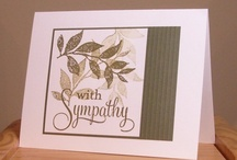Cards-CAS / clean and simple cards, mostly white background / by Martha Zender