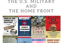 Military Cookbooks & Cooking / A listing of military cookbooks! http://www.operationwearehere.com/Cookbooks.html