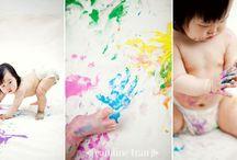 Paint Themed Shoot