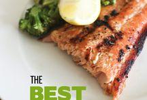 Fish and salmon